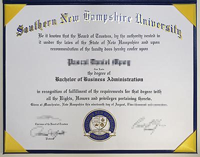 Order Fake SNHU Diploma Certificate Online