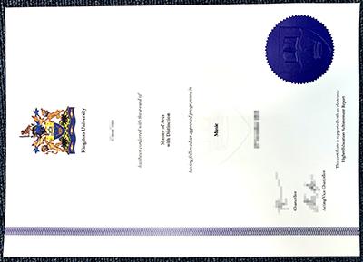 Get the Kingston University fake diploma