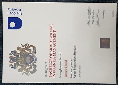 The Open University false diploma