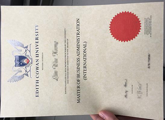 Buy fake ECU diploma online