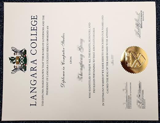Order A Fake Langara College Diploma Online