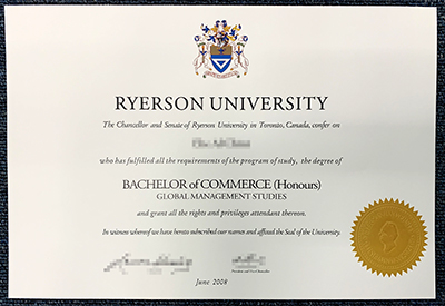 Buy Fake RU Diploma, Fake Ryerson University Degree