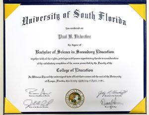 Where to buy a fake USF degree