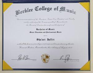 Order a fake diploma at Berklee College of Music