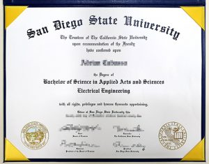 How to Buy Fake San Diego State University Diploma(Old Version)
