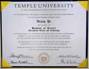 How to Get Temple University Fake Diploma?