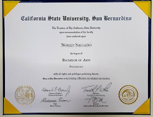 Where to buy a false CSUSB diploma