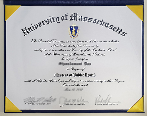Buy A Fake University of Massachusetts Diploma, Get a Masters Degree Online