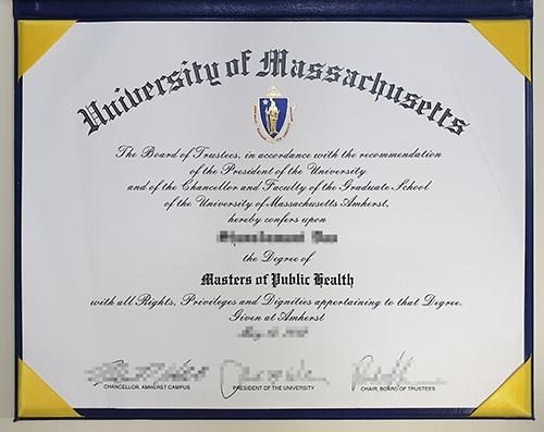 Buy fake University of Massachusetts diploma