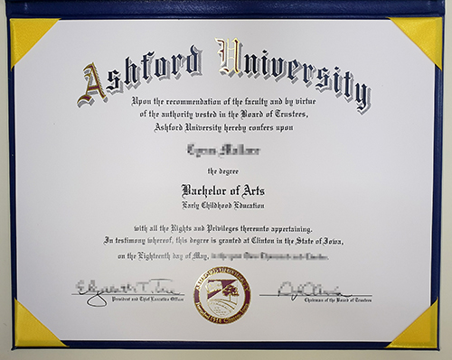 Obtain a Fake Ashford University Diploma Online