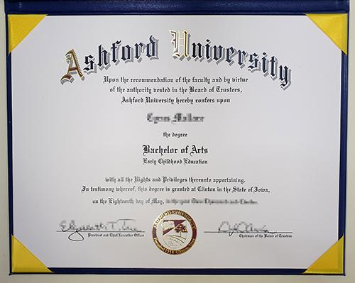Looking for fake diplomas from Ashford University