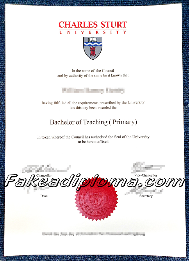 fake Charles sturt university diploma, Australia university fake degree, Charles sturt university fake transcript, Charles sturt university fake certificate