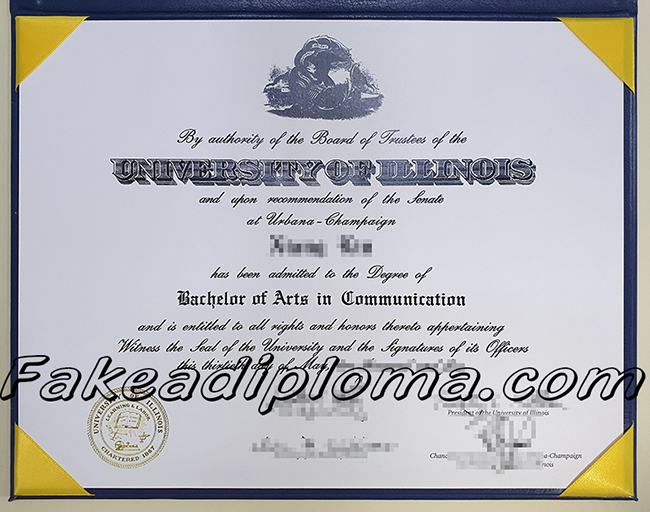 University of Illinois fake diploma, UI fake degree certificate, fake University of Illinois diploma