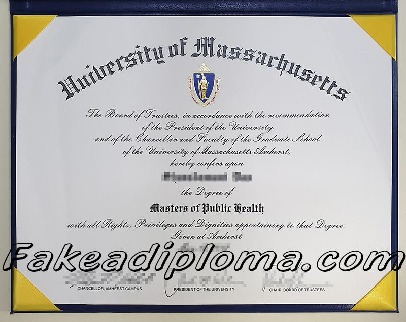 University of massachusetts fake diploma, UMASS fake degree certificate