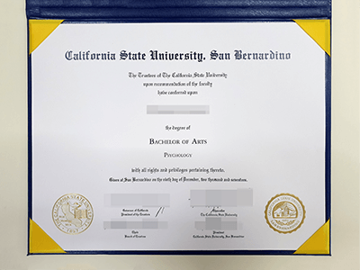 Where to Buy a Fake CSUSB Diploma?