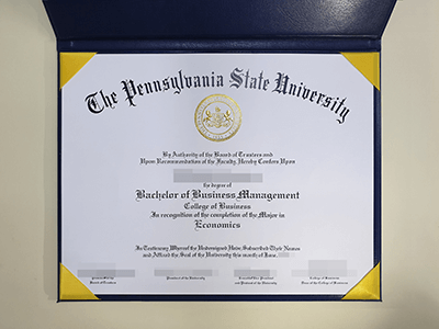 How to Get a Fake Pennsylvania State University Diploma?