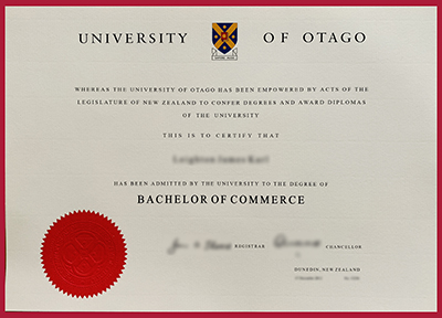 Get fake University of Otago diploma online