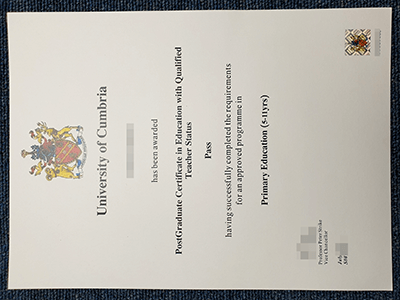 Buy A Fake University of Cumbria Diploma