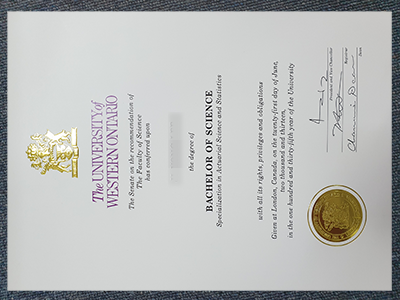 How to Buy The Fake University of Western Ontario Diploma&Transcript?