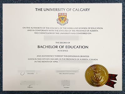 Buy Fake University of Calgary Degree Certificate