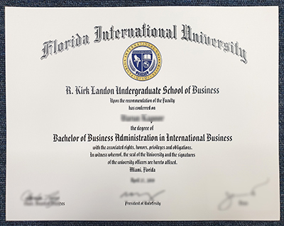 How to order fake FIU diploma