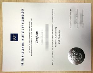 How to Buy Fake BCIT Diploma? British Columbia Institute of Technology Fake Certificate