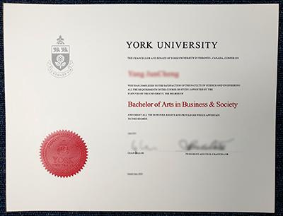 Where to Buy Fake York University Diploma?
