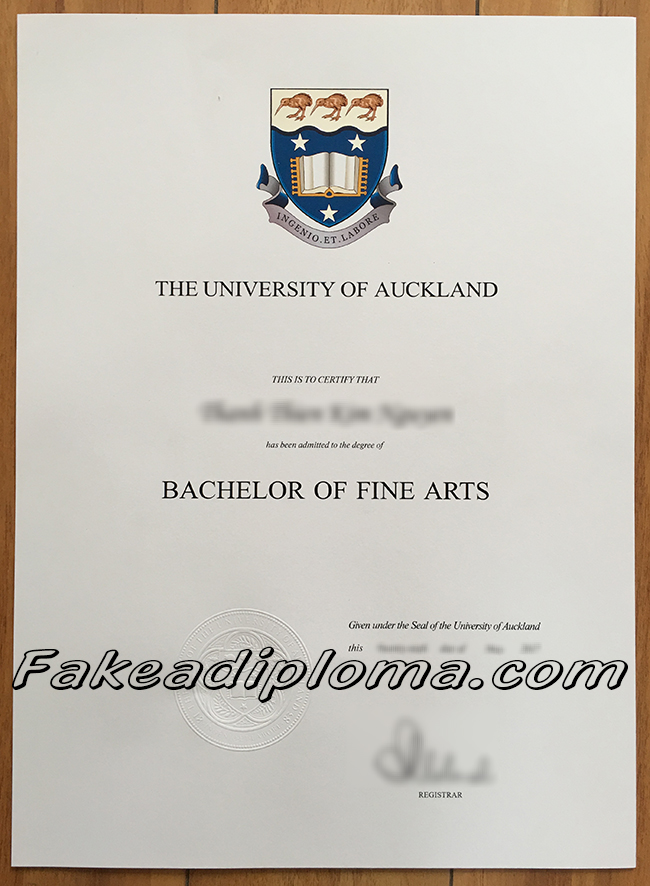 UoA fake degree certificate, The University of Auckland fake diploma, New Zealand University fake transcript,  buy fake certificate online