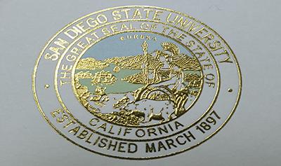 The Fake SDSU Degree Seal