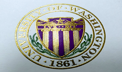 Fake University of Washington Diploma Seal