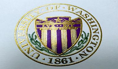 Fake University of Washington Diploma Seal