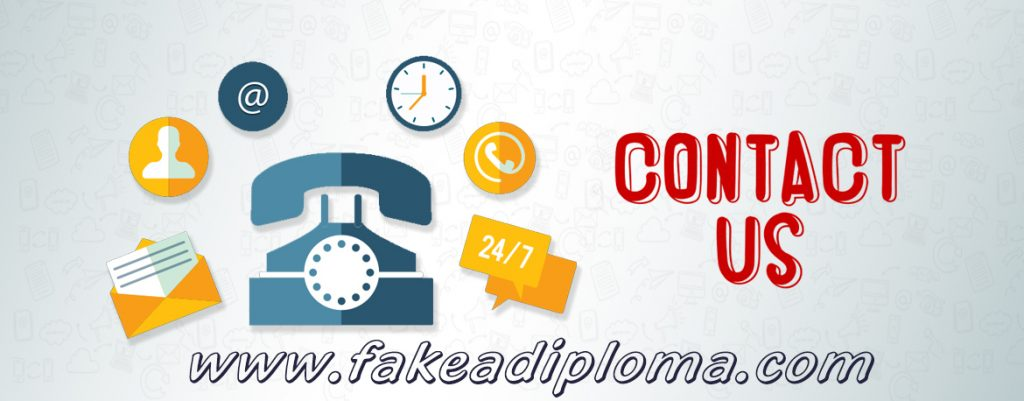 Buy fake diploma contact
