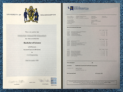 Get the Fake University of Wolverhampton Diploma and Transcript Online