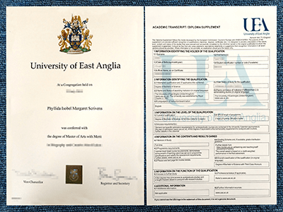 Get The Fake University of East Anglia Degree And Transcript