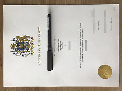 Running a Fake Coventry University Diploma, Copy CU Fake Degree