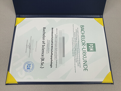 How to Get A Fake FOM Diploma? Get FOM Hochschule Certificate