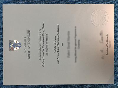 Buy Fake University of Abertay Dundee diplomas