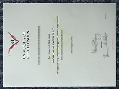 Buy the fake University of North London diplomas