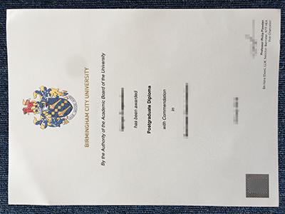 Get The Fake Birmingham City University Diplomas