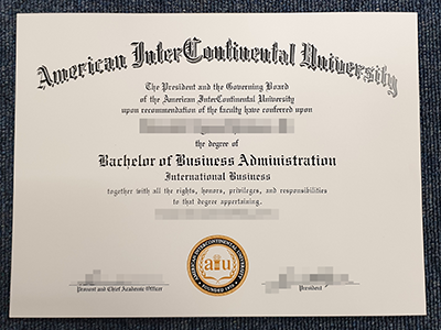How to Get A Fake American InterContinental University Degree Online?