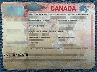 Get Fake Canadian VISA Online