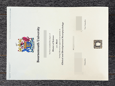 Purchase A Fake Bournemouth University Diploma Online