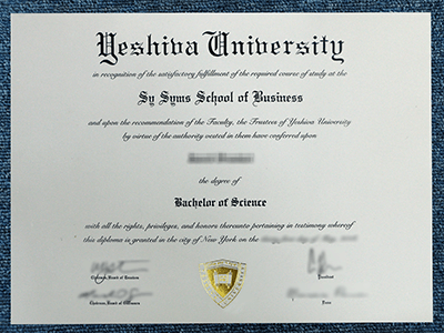 Where to Get A Fake Yeshiva University Diploma Certificate?