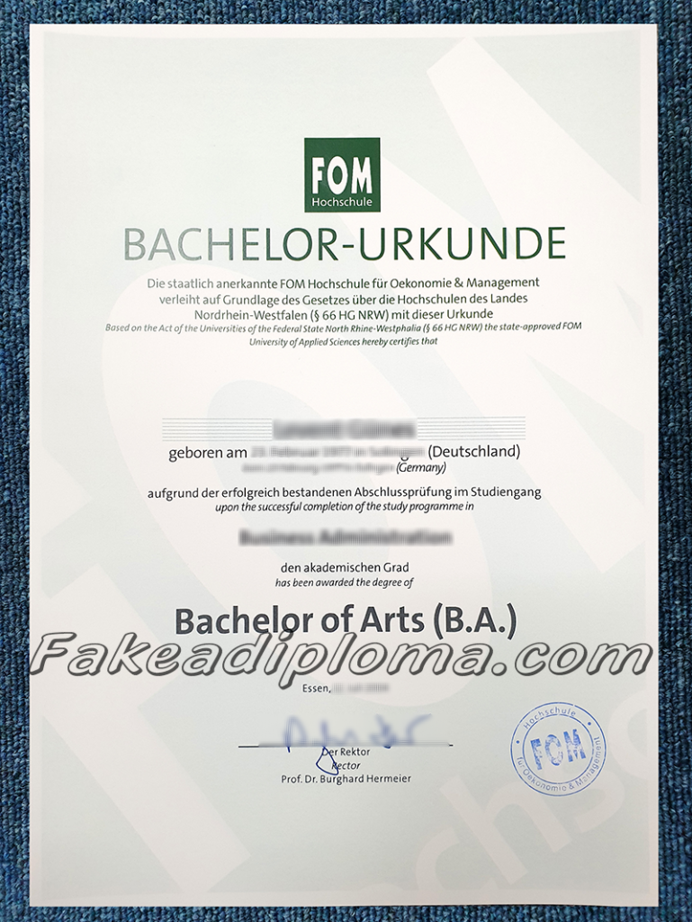 Fake Fom Diploma&Transcript