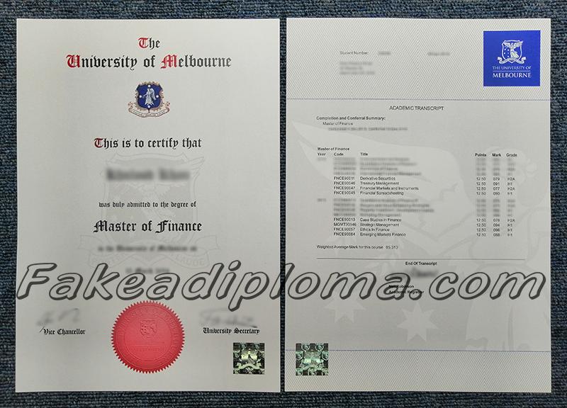 Fake Melbourne U Degree And Transcript, The University of Melbourne fake diploma, The University of Melbourne fake transcript.