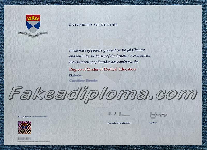 fake UoD diploma certificates, fake University of Dundee degree, fake University of Dundee transcript, fake UK University diploma and transcript.
