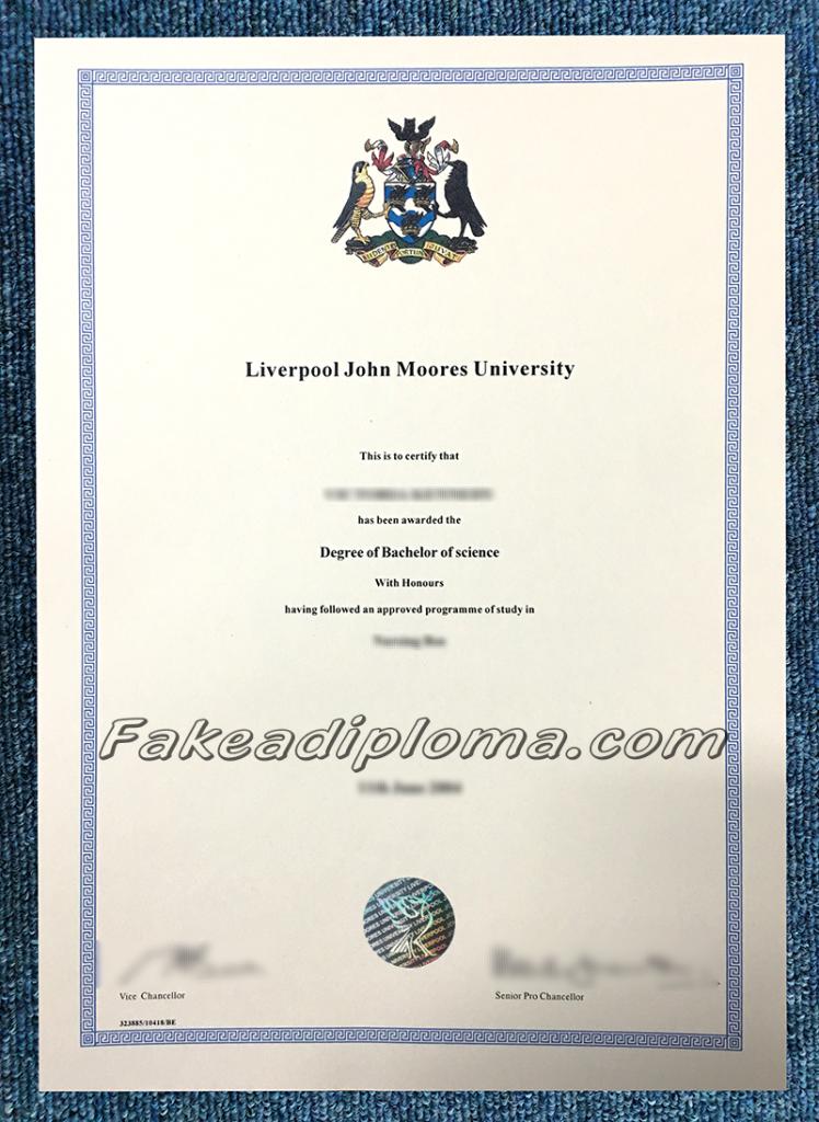 Get Fake LJMU Degree, get fake Liverpool John Moores University diplomas.