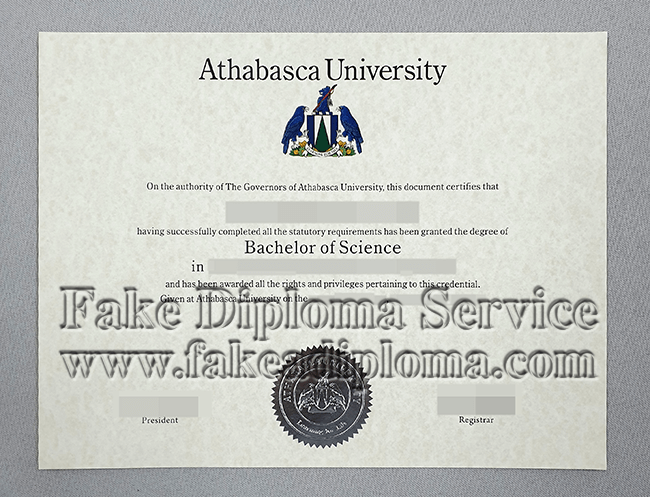 fake Athabasca University Diplomas.