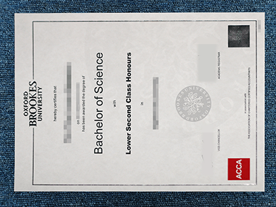 A Perfect Fake Oxford Brookes University Diploma