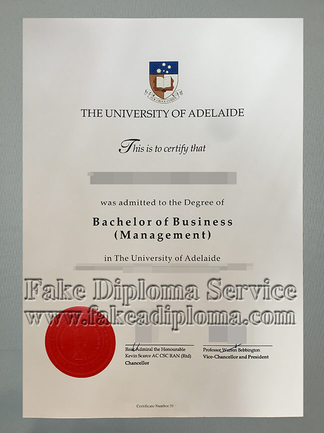 Fake University of Adelaide Diploma,  fake University of Adelaide degree